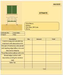 Design An Invoice Superior Interior Design Invoice Templates For Creative