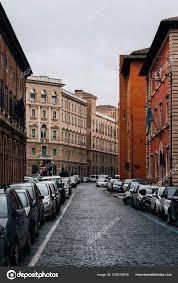Borgo Santo Spirito Une Rue Près Cité Vatican Rome Italie Photo