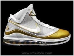 lebron white and gold. nike air max lebron 7 vii white gold china edition lebron and