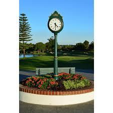 golf course street clock