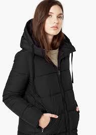 Lyst - Mango Quilted Long Coat in Black & Gallery. Women's Quilted Coats Adamdwight.com