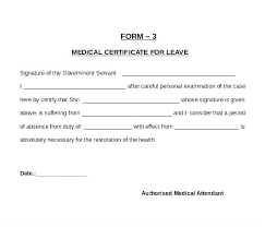 New Medical Certificate Good Health Sample Certificate Free Download