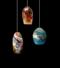 blown glass pendant lighting. blown glass pendant lights by kelly howard are now available at dragonfire gallery in cannon beach lighting d