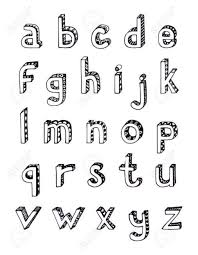 3d bubble letters lowercase