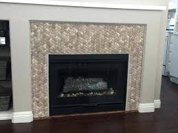 stone tile for fireplace stone tile around fireplace tan basket weave stone tile fireplace surround pebble