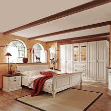 Architektur Landhaus Schlafzimmer Set Lourette Aus Kiefer Massivholz