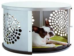 Decorations:Cute Kid Pet Friendly Decor On Storage Pink Ottomans Ideas  Gorgeous Round Dog Crate