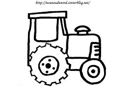 Dessin Colorier D Un Tracteur Imprimer