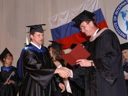 ibe about ibe curriculum of additional education Почетный профессор ИМБО А Н Смирнов вручает дипломы