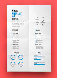 Cool Resume Template Impressive 48 Free Elegant Modern CV Resume Templates PSD Freebies