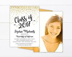 Graduation Announcements For High School College Graduation Invitation Printed Or Printable High Etsy