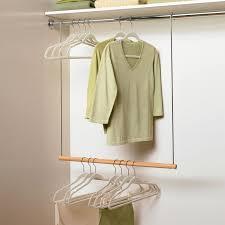 pull down closet hanger bar