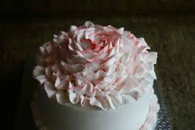 How To Design Cake How To Decorate Cake With Whipped Cream Rose Gayathris