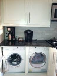 Under counter washer dryer Counter Depth Under Counter Washer And Dryer In The Kitchen So Handy Pinterest My Ikea Hack Under Counter Washer And Dryer In The Kitchen So