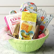 how to make the sweetest gift basket for your favorite baker