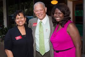 Judge Donnie Hoover - At the MCDP Tweetup Meetup with Aisha Dew ...