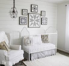 White Gender Neutral Nursery | Neutral nurseries, Vintage ...