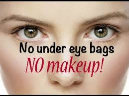 get rid of bags under your eyes without makeup
