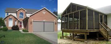 screened in garage doorGarage Door Screens for Residential and Commercial