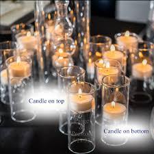Wedding Tea Light Holders Personalized Blown Tealight Wedding Candle Holder