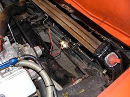 c3 corvette forum installing the perma cool electric fan now comes the wiring since the kit comes a wiring diagram i won t try to rewrite it i did however wrap the wire in black electrical tape and wire tie