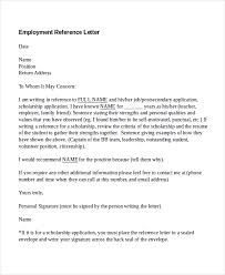 Reference Letter Job Writing A Reference For An Employee