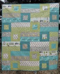 A Blue Sky Kind of Life: Bluebird Park Baby Quilt finished! & The Bluebird Park Baby Quilt is finished! Adamdwight.com