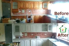 painted white kitchen cabinets before and after. Chalk Paint Kitchen Cabinets Before And After Club From . Painted White