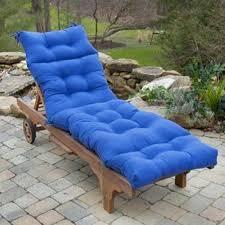 royal blue chaise lounge cushions greendale home fashions 20 outdoor chair cushion