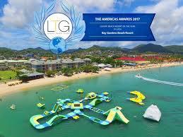 bay gardens beach resort awarded luxury beach resort of the year