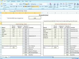 How To Cost A Product Template Price List Word Benefit Analysis ...