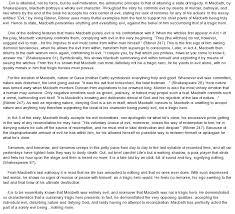 tragic endings quotes like success essay on macbeth tragic hero