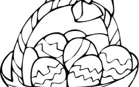 easter egg coloring pages printable free coloring book egg coloring pages free egg basket coloring