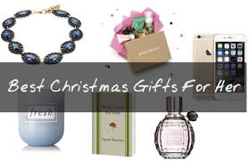 Best Christmas Gifts for Wife (Her) 2015 - 2016 Gift Ideas