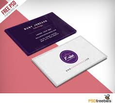 Fashion Designer Business Card Free Psd Business Cards Graphic