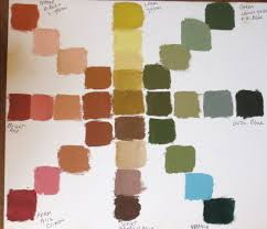 Umber Color Chart Color Charts Archive Wetcanvas