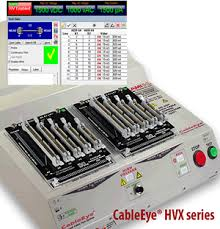 q a pc based cable and harness test systems< cableeye wire testing equipment