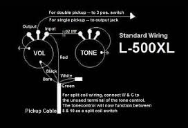 dean pickup wiring diagram bill lawrence usa the authentic l500 pickups are still made today from the same original tooling