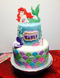 Ariel Cake Decorations Little Mermaid Cake Topper