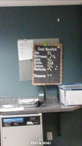 This Doctors Office Has A Good Noodle Chart Mildyinteresting