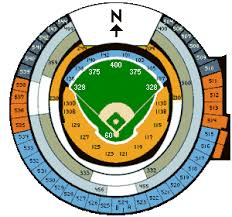 Rogers Skydome Seating Chart Rogers Centre Seating Chart Game Information