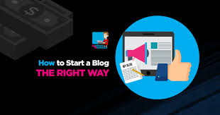 How To Start A Blog THE RIGHT WAY In 2018 Step By Step