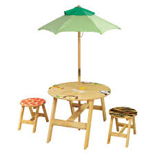 jungle themed furniture. Fantasy Fields Sunny Safari Outdoor Table And Chair Set With Bench | Hayneedle Jungle Themed Furniture R
