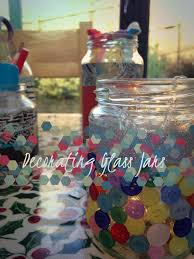 How To Decorate A Glass Jar Decorating Glass Jars 100 Steps with Pictures 35