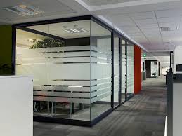 trendy office designs blinds. Charming Glass Office Partitions With Blinds A Walls Glass: Full Trendy Designs
