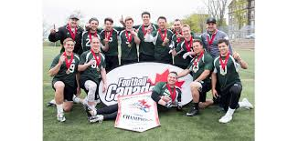 fleur de lys and saskatchewan capture senior flag invitational football canada
