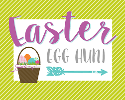 easter egg hunt template egg hunt printable signs lil luna