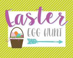 easter egg hunt template egg hunt printable signs lil luna