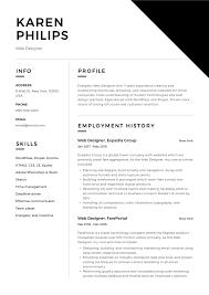 Web Designer Resume Sample Free Download 12 Free Web Designer Resume Examples 12 Samples Pdf