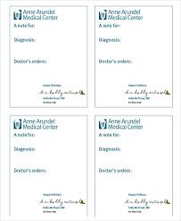 Doctors Note 8 Doctor Note Examples Samples Examples